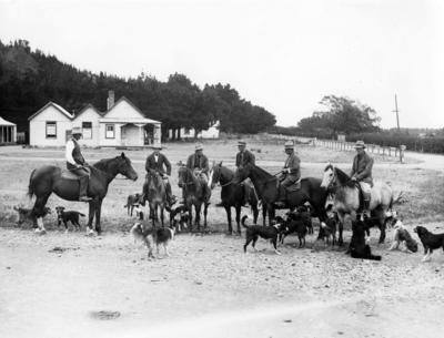 Group of Shepherds at Maraekakaho