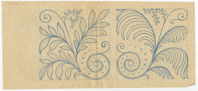 Untitled - foliate and floral designs