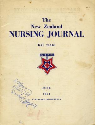 Journal, The New Zealand Nursing Journal; New Zealand Registered Nurses' Association (Inc); The Commercial Printing Co Ltd; 2012/42/5