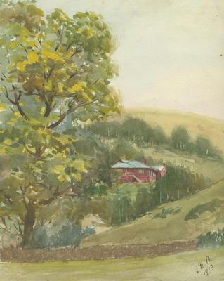 Untitled - farm scene