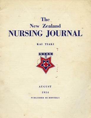 Journal, The New Zealand Nursing Journal