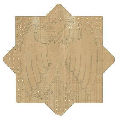 Untitled - sketch of eagle crest