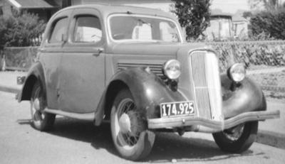Violet Powley's car
