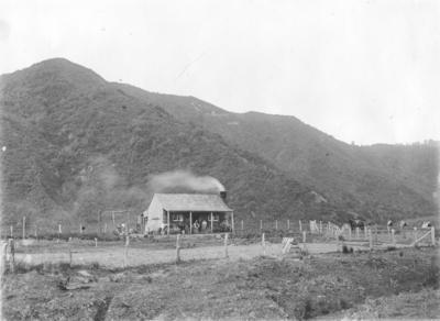 Iuahu house, Ruakituri, Hawke's Bay; Duncan, Russell