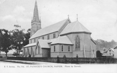 St Patrick's Roman Catholic Church, Napier