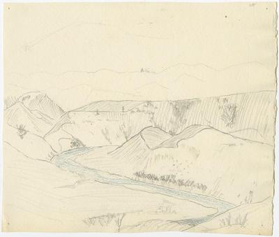Untitled - sketch of a landscape
