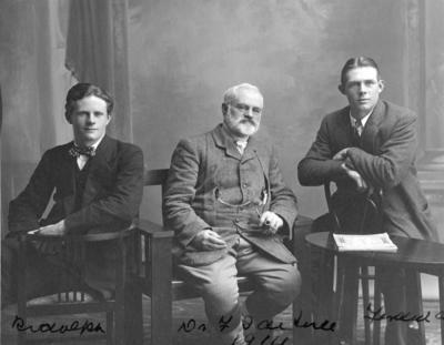 Dr De Lisle, Ferdinand De Lisle and Rodolphe De Lisle; Poll, Wallace