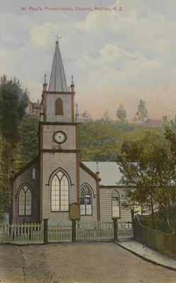 St Paul's Presbyterian Church, Napier