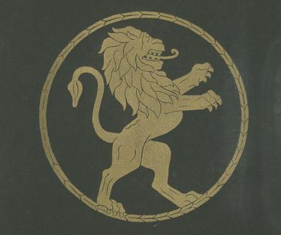 Untitled - heraldic lion emblem