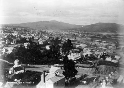 View of Dunedin; Coxhead, Frank Arnold; 48/75