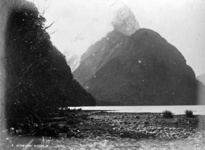 Mitre Peak, Milford Sound; Coxhead, Frank Arnold; 48/75