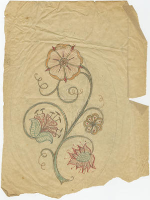 Untitled - stylised flower design