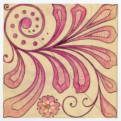 Unititled - floral and foliate design