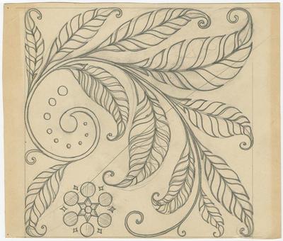 Untitled - foliate design