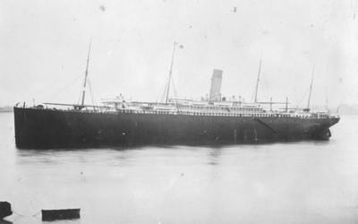 RMS Ionic, Gravesend, England