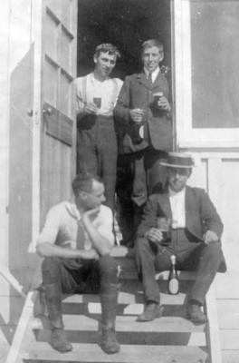 Refreshments, Bertram Ogilvie and Friends