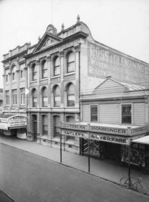 Emerson Street, Napier; A B Hurst & Son