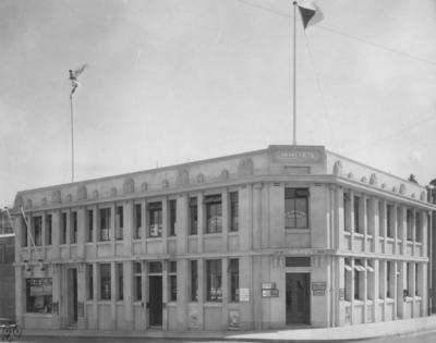 Kinross White Building, Napier