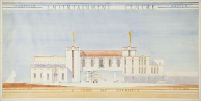 Architecture plan, Proposed Entertainment Centre, Napier; Hay, James Augustus Louis; Wolfe, Leonard J