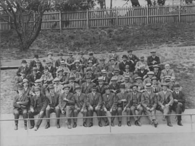 Group portrait, New Zealand Society of Civil Engineers