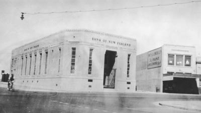 Bank of New Zealand, Hastings Street, Napier