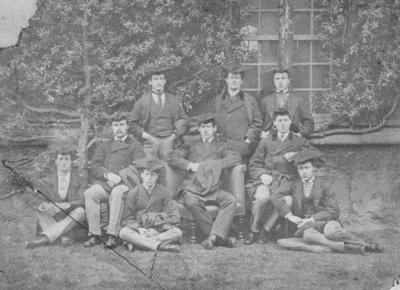 Group of unidentified scholars