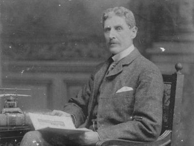 Portrait of Thomas Southey Baker