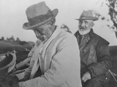 Portrait of William Kinross White and Tamiti