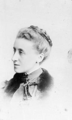 Portrait of an unidentified woman