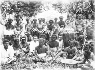 Group portrait, Fiji