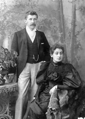 Mr Richard Bestall and Mrs Eleanor Bestall; Kinsey, William Henry Scott