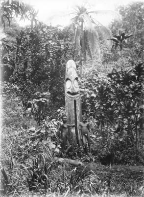 Wooden statue, Malekula Island, Vanuatu