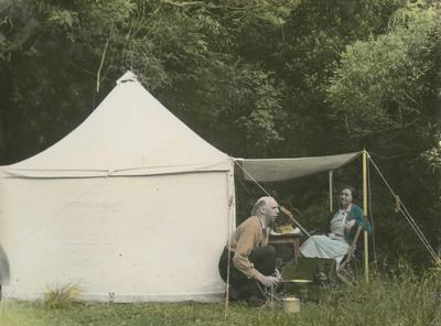 Camping, Lake Waikaremoana, Hawke's Bay