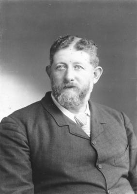 Portrait of J P Hamlin; Carnell, Samuel