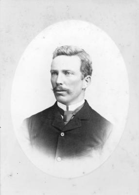 Portrait of T Crosse; A & G Taylor