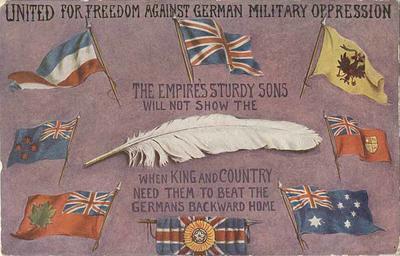 Postcard, World War I