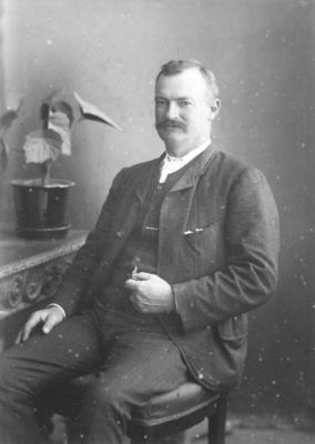 Portrait of L de Pelichet