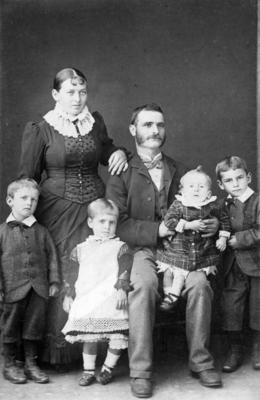 Bill Seymour and family