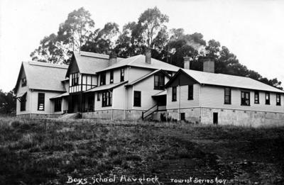 Boys' School, Havelock North; Frank Duncan & Co
