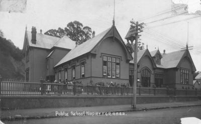 Napier Main School, Napier; Radcliffe, Frederick George