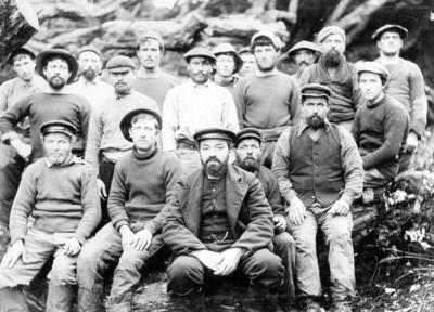 Crew of the Anjou, Auckland Islands
