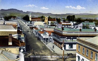 Hastings and Te Mata Peak