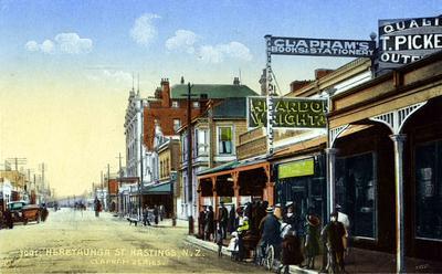 Heretaunga Street, Hastings