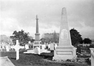 Naval and Military Cemetery, Tauranga; Duncan, Russell