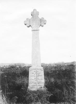New Zealand Wars Memorial Cross, Ōhaeawai, Northland; Duncan, Russell