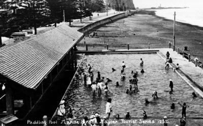 Paddling pool, Marine Parade, Napier