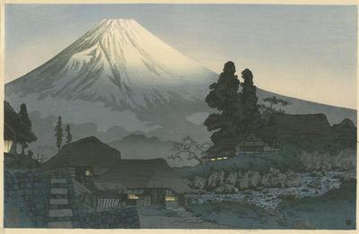 Fuji from Mizuchubo