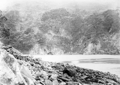 Moutohorā or Whale Island, Hot Beach