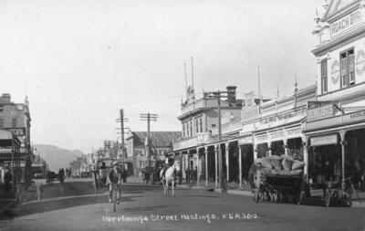 Heretaunga Street, Hastings; Frank Duncan & Co