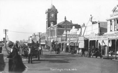 Station Street, Hastings; Frank Duncan & Co; Radcliffe, Frederick George